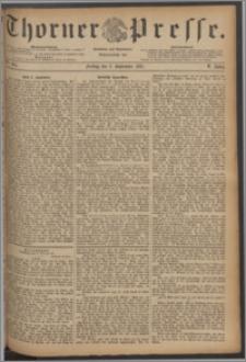Thorner Presse 1887, Jg. V, Nro. 204