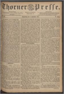 Thorner Presse 1887, Jg. V, Nro. 209