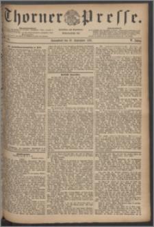 Thorner Presse 1887, Jg. V, Nro. 211