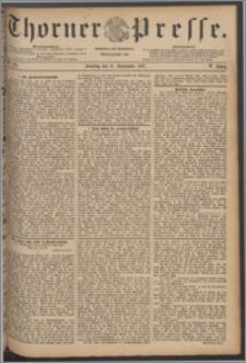 Thorner Presse 1887, Jg. V, Nro. 212 + Beilage