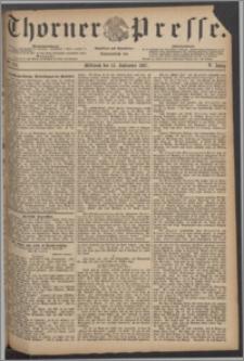 Thorner Presse 1887, Jg. V, Nro. 214