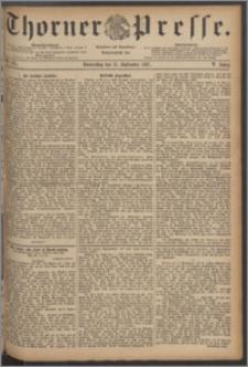 Thorner Presse 1887, Jg. V, Nro. 215