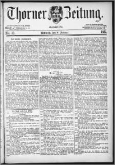 Thorner Zeitung 1882, Nro. 33