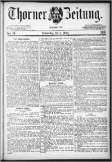 Thorner Zeitung 1882, Nro. 58