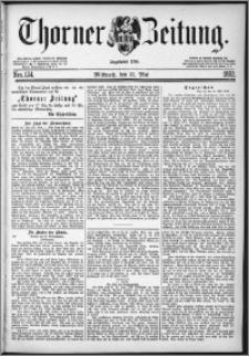 Thorner Zeitung 1882, Nro. 124