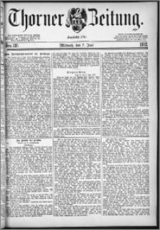 Thorner Zeitung 1882, Nro. 130