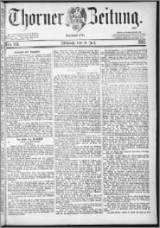 Thorner Zeitung 1882, Nro. 166