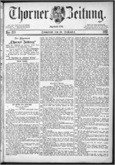 Thorner Zeitung 1882, Nro. 229
