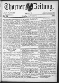 Thorner Zeitung 1882, Nro. 237