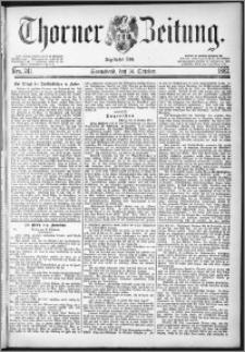 Thorner Zeitung 1882, Nro. 241