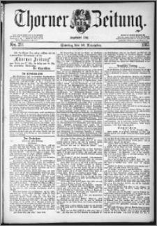 Thorner Zeitung 1882, Nro. 278 + Beilage, Extra-Beilage