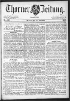 Thorner Zeitung 1882, Nro. 280