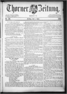 Thorner Zeitung 1883, Nro. 124