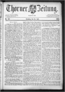 Thorner Zeitung 1883, Nro. 168