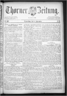 Thorner Zeitung 1883, Nro. 207