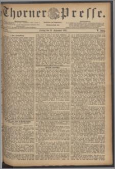 Thorner Presse 1887, Jg. V, Nro. 216