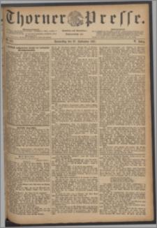 Thorner Presse 1887, Jg. V, Nro. 221