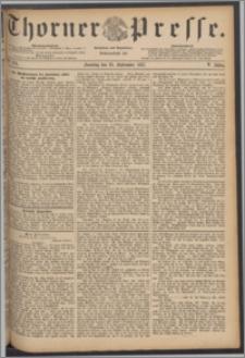 Thorner Presse 1887, Jg. V, Nro. 224 + Beilage