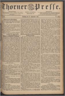 Thorner Presse 1887, Jg. V, Nro. 225