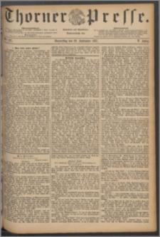 Thorner Presse 1887, Jg. V, Nro. 227