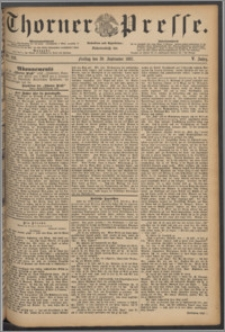 Thorner Presse 1887, Jg. V, Nro. 228