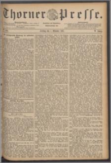 Thorner Presse 1887, Jg. V, Nro. 234