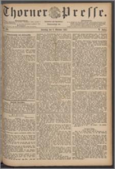 Thorner Presse 1887, Jg. V, Nro. 236 + Beilage