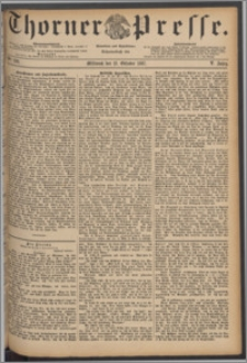 Thorner Presse 1887, Jg. V, Nro. 238