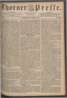 Thorner Presse 1887, Jg. V, Nro. 239