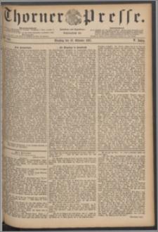 Thorner Presse 1887, Jg. V, Nro. 243