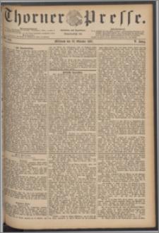 Thorner Presse 1887, Jg. V, Nro. 244