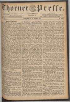 Thorner Presse 1887, Jg. V, Nro. 245