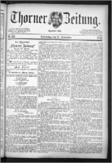 Thorner Zeitung 1883, Nro. 225