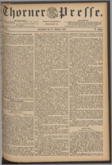 Thorner Presse 1887, Jg. V, Nro. 247