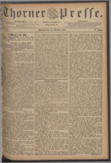 Thorner Presse 1887, Jg. V, Nro. 250 + Beilagenwerbung