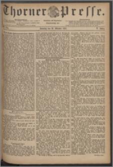 Thorner Presse 1887, Jg. V, Nro. 254