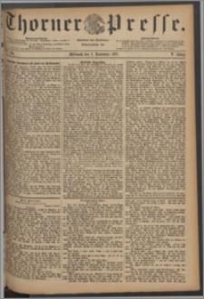 Thorner Presse 1887, Jg. V, Nro. 256
