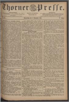 Thorner Presse 1887, Jg. V, Nro. 257