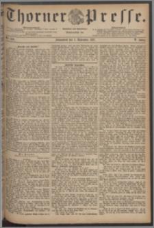 Thorner Presse 1887, Jg. V, Nro. 259