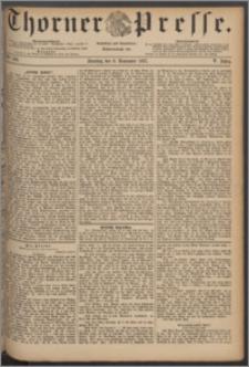Thorner Presse 1887, Jg. V, Nro. 260 + Beilage