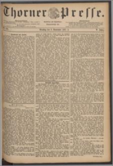 Thorner Presse 1887, Jg. V, Nro. 261