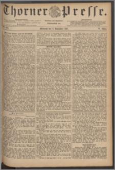 Thorner Presse 1887, Jg. V, Nro. 262