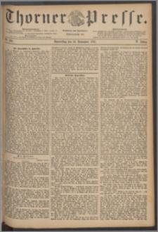 Thorner Presse 1887, Jg. V, Nro. 263