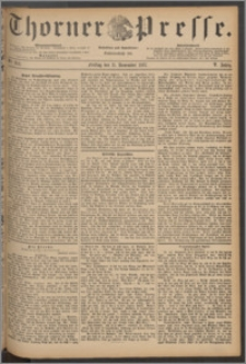 Thorner Presse 1887, Jg. V, Nro. 264