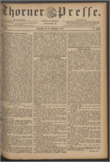 Thorner Presse 1887, Jg. V, Nro. 266