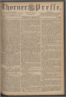 Thorner Presse 1887, Jg. V, Nro. 269