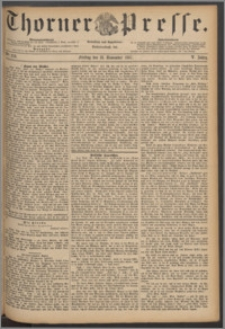 Thorner Presse 1887, Jg. V, Nro. 270