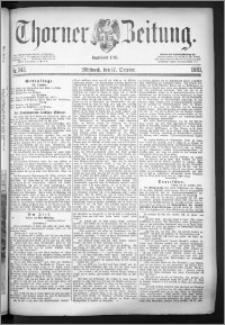 Thorner Zeitung 1883, Nro. 242