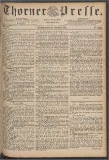Thorner Presse 1887, Jg. V, Nro. 271