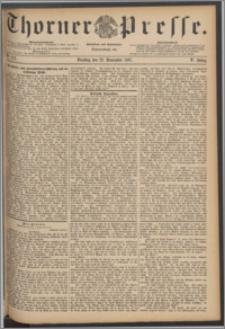 Thorner Presse 1887, Jg. V, Nro. 273